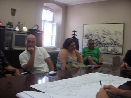 Predstavnici MO Brodarica danas pregledali dokumentaciju sustava odvodnje