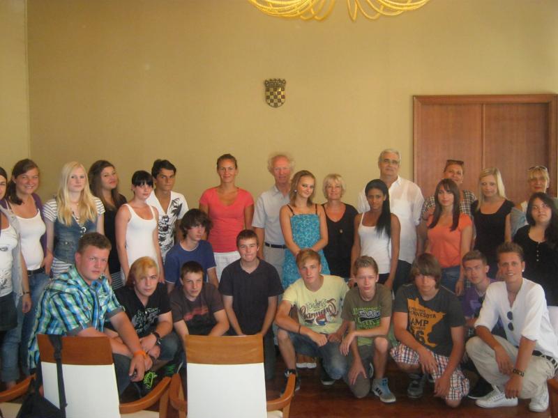 Gradonačelnik primio njemačke srednjoškolce
