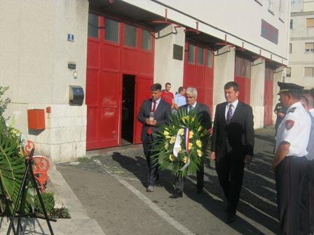 Obilježavanje 18 godina stradavanja vatrogasaca JVP grada Šibenika