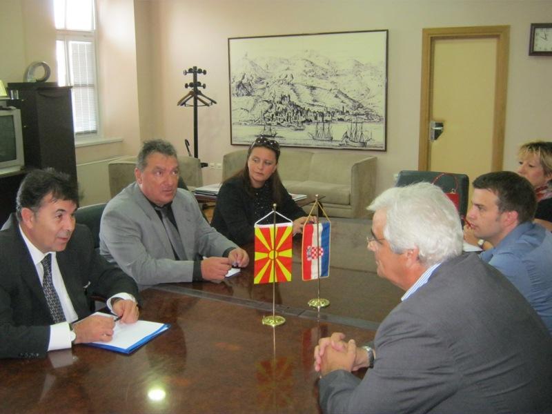 Veleposlanik Republike Makedonije Dančo Markovski u Šibeniku