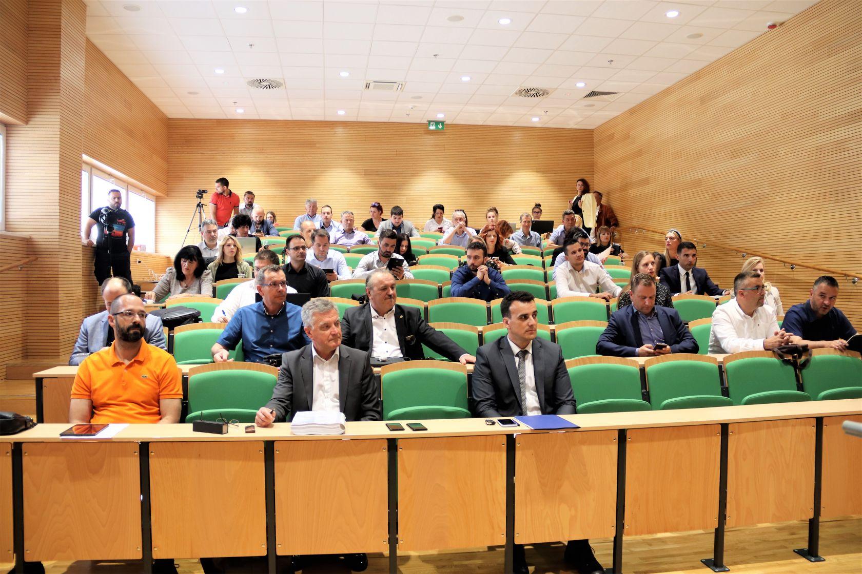 Održana 20. sjednica Gradskog vijeća Grada Šibenika