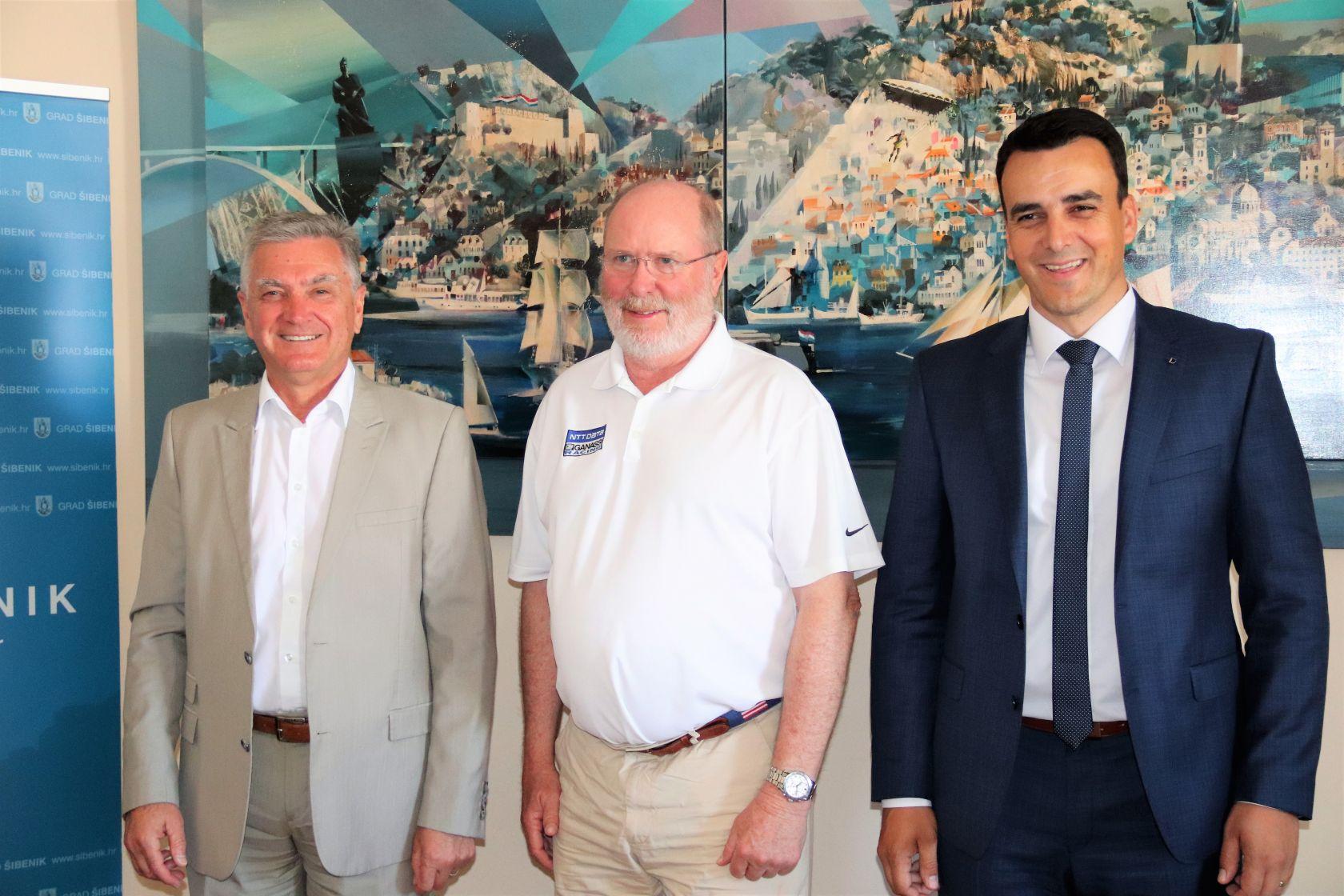 Američki veleposlanik Robert W. Kohorst posjetio Šibenik