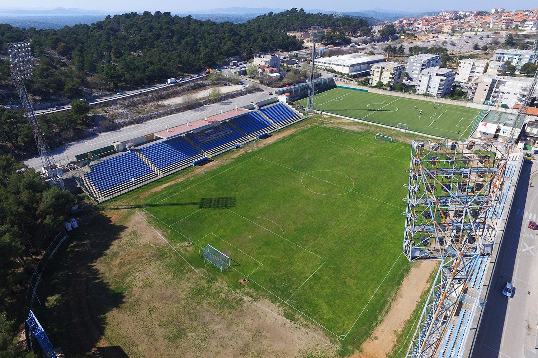 Finalna utakmica Hrvatskog nogometnog kupa na stadionu Šubićevac