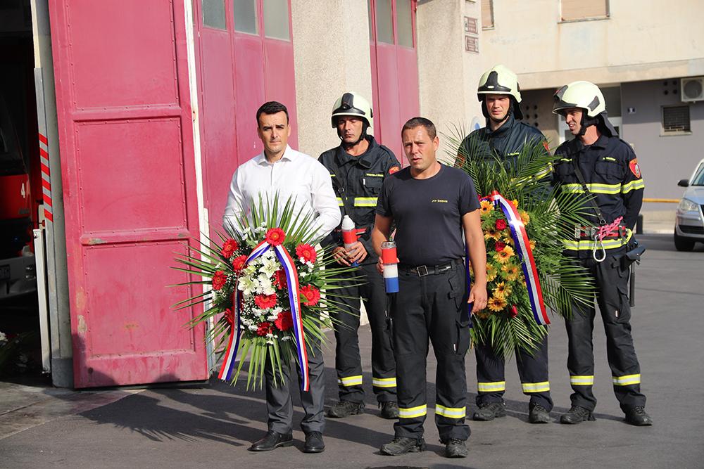Obilježena 27. godišnjica stradanja vatrogasaca JVP Šibenik u Domovinskom ratu