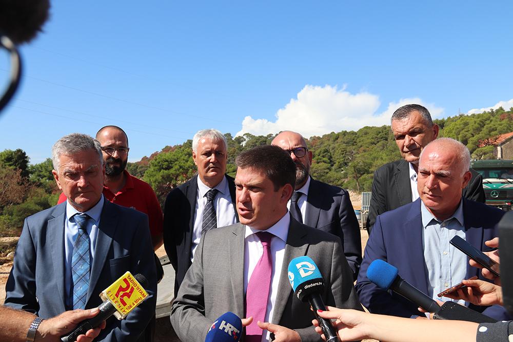 Ministar Oleg Butković obišao radove na čvoru Rokići i najavio nove infrastrukturne projekte
