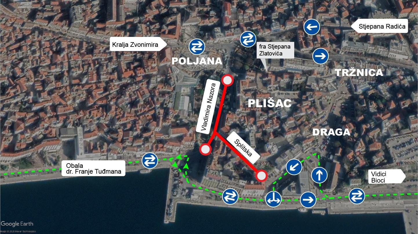 Od ponedjeljka 5. listopada prema Docu Obalom hrvatske mornarice dvosmjerno