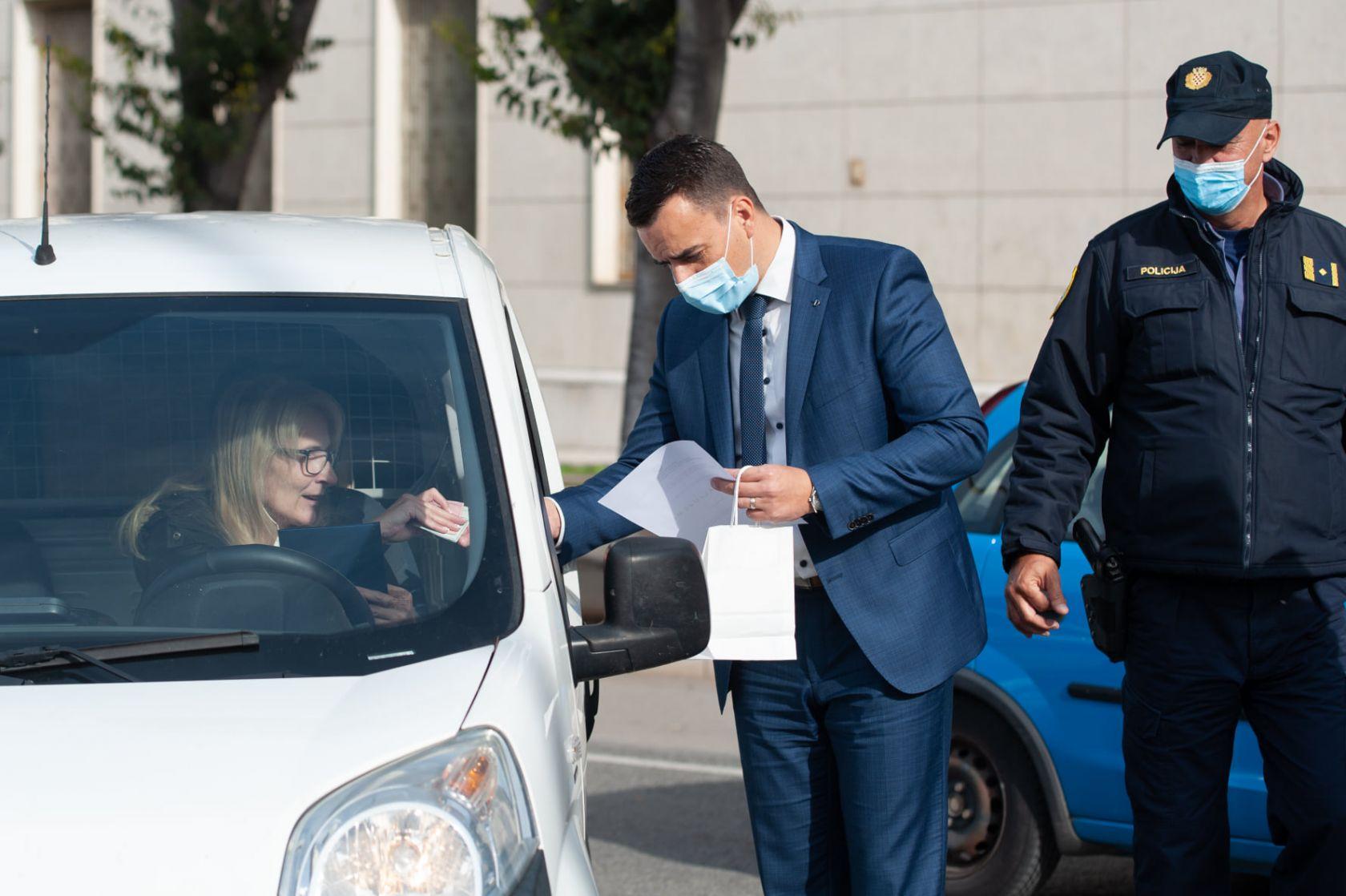 """Zamjenik gradonačelnika Paško Rakić podržao akciju """"Dan ljubaznosti u prometu"""""""