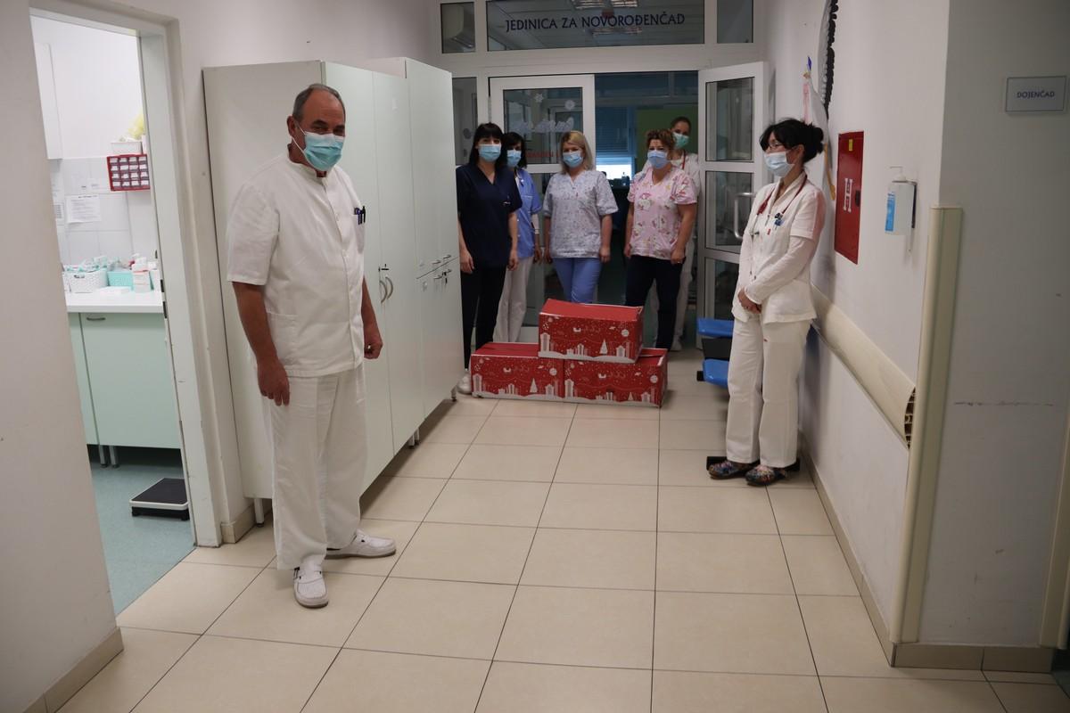 Grad Šibenik darovao mališane šibenske bolnice