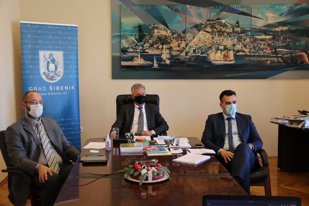 25. sjednica Gradskog vijeća Grada Šibenika održana online putem