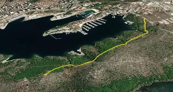 Izgradnja pješačko-biciklističke staze Naš mir