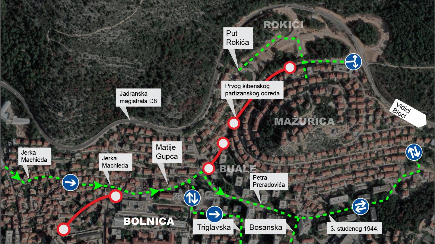 Regulacija prometa u Rokićima