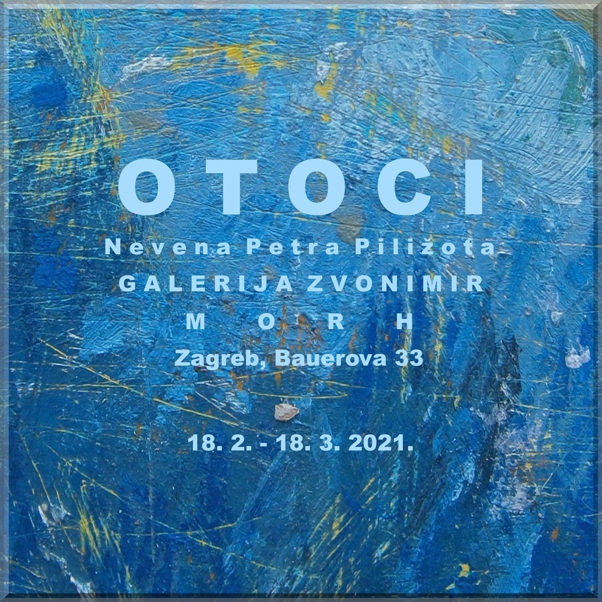 Otvorenje izložbe šibenske umjetnice Nevene Petre Piližota