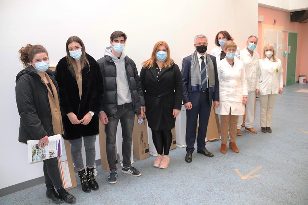 Grad Šibenik donirao uređaje za dezinfekciju šibenskoj bolnici