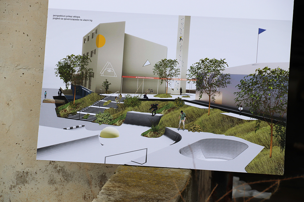 """Predstavljen projekt """"Centar za mlade"""" u bivšoj vojarni Bribirskih knezova"""