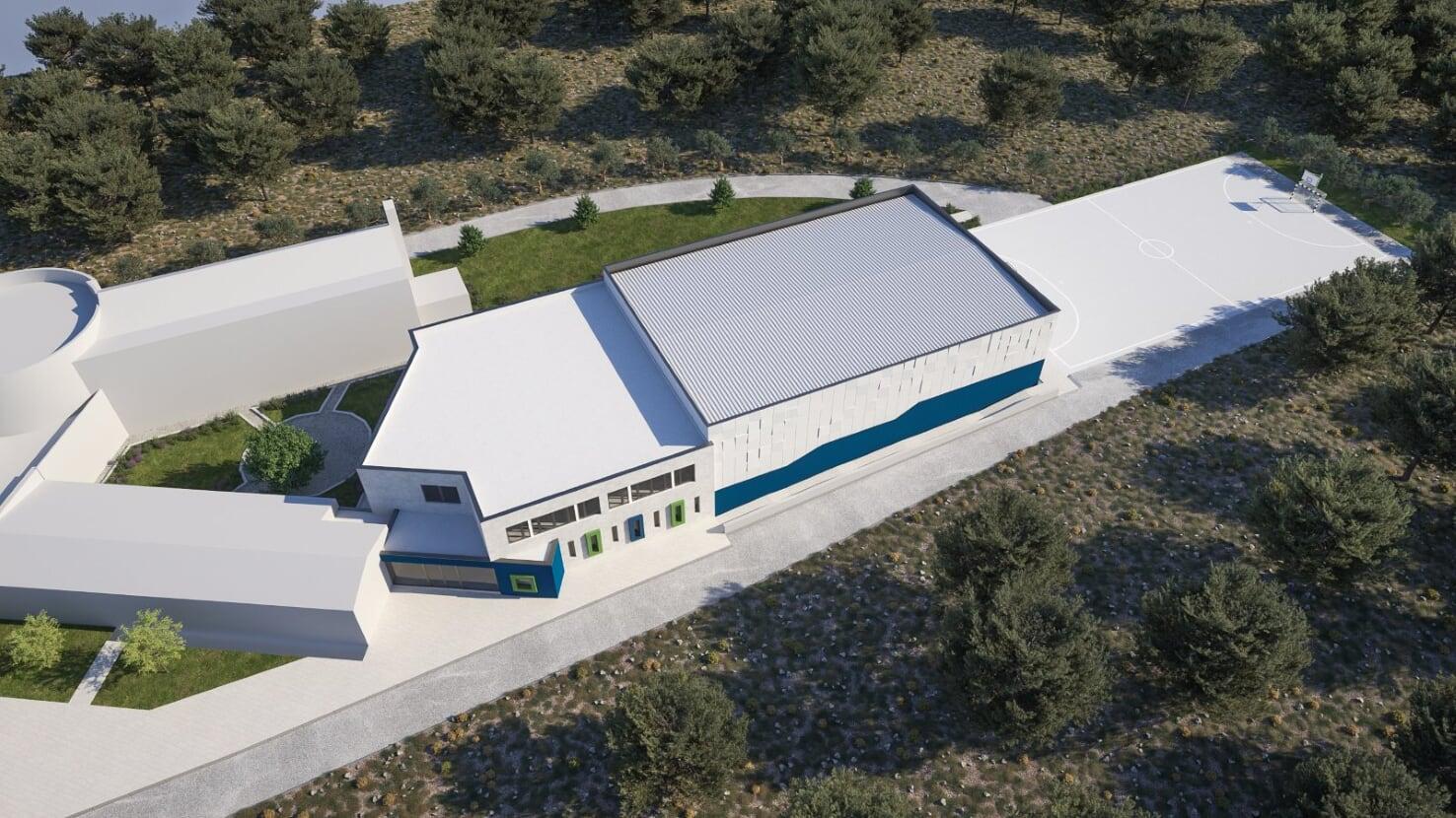 Izrađen glavni projekt za sportsku dvoranu Osnovne škole Brodarica
