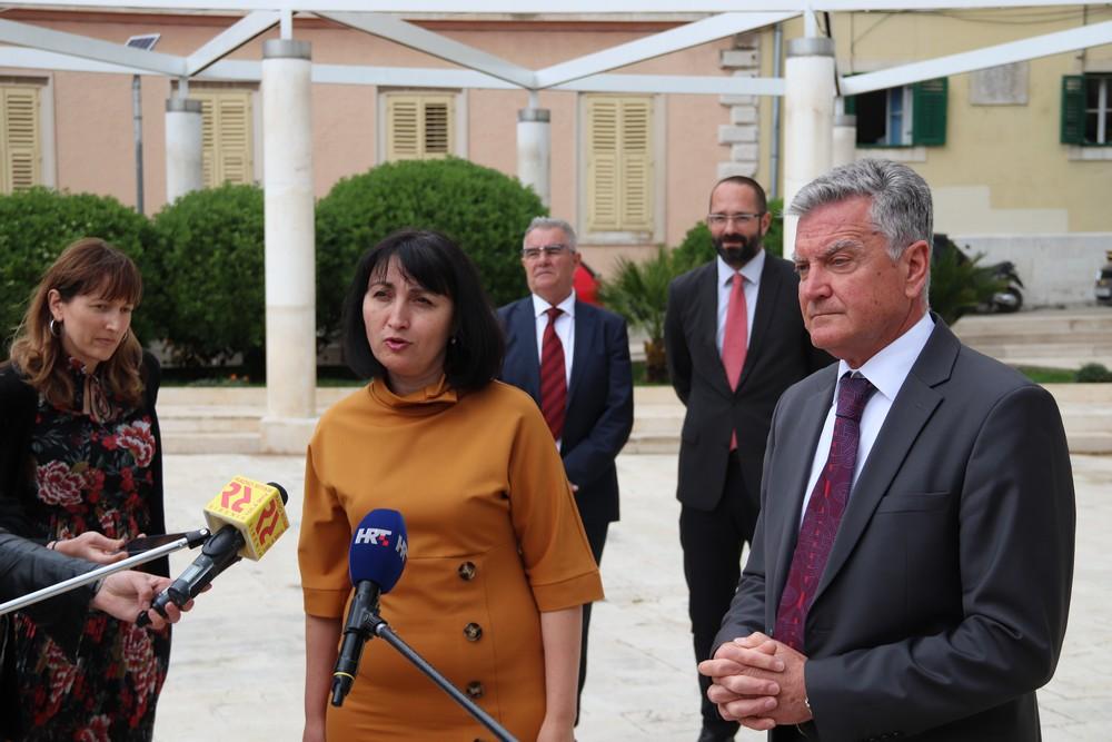 Direktorica EBRD-a za Hrvatsku Victoria Zinchuk  u posjetu Šibeniku