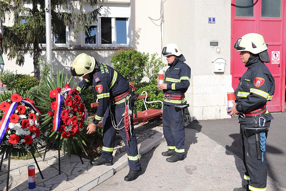 Šibenski vatrogasci obilježavaju Dan sv. Florijana, svog zaštitnika