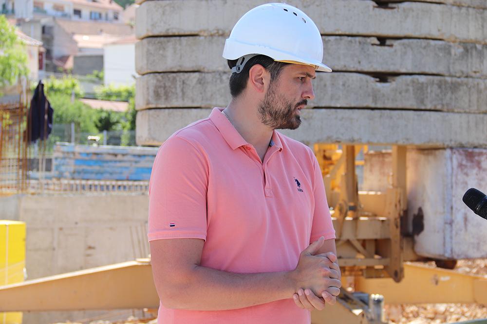 Gradonačelnik obišao radove na izgradnji novog dječjeg vrtića u Crnici