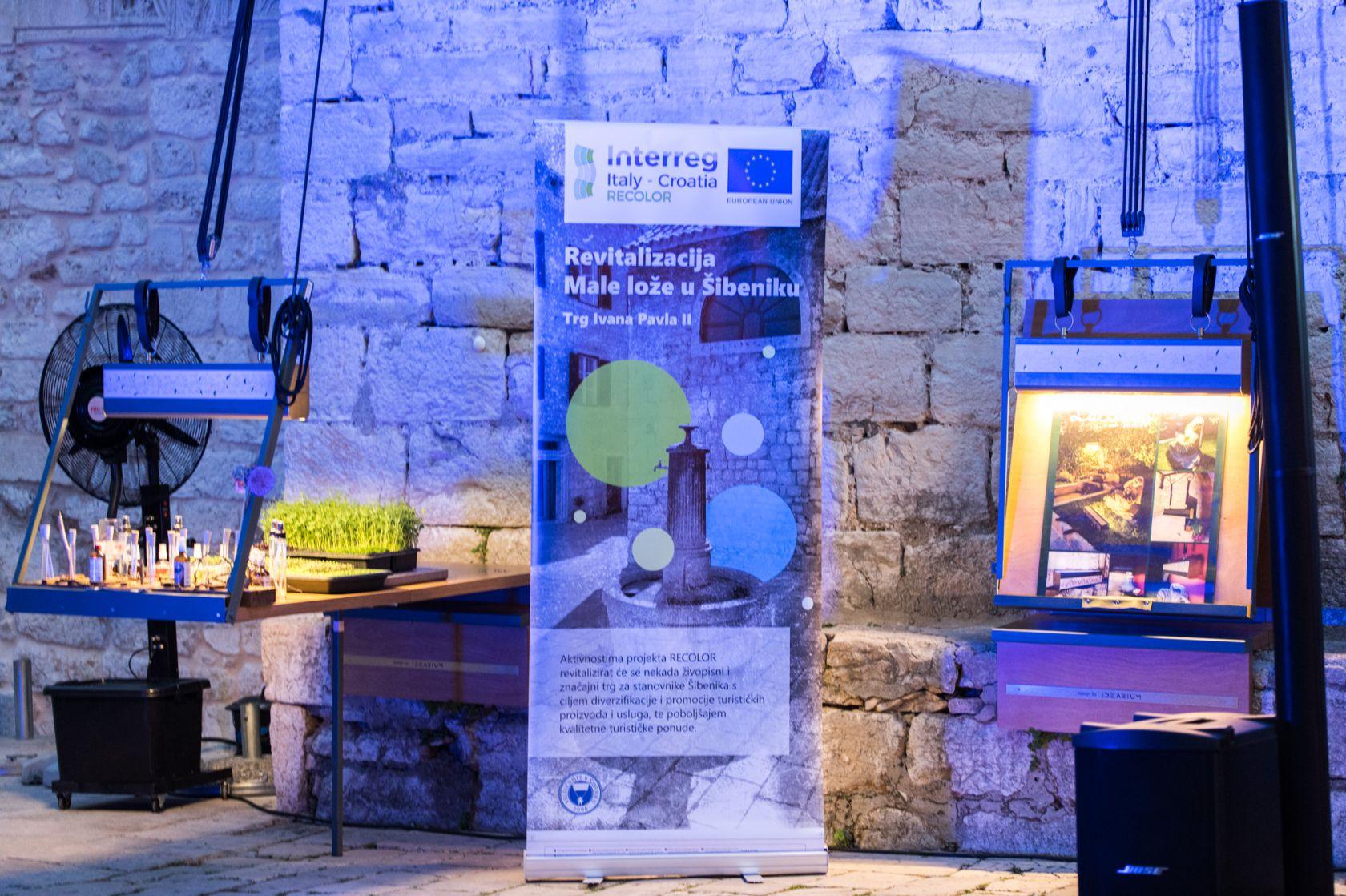 Veleučilište u Šibeniku na Maloj loži nastavlja projekt RECOLOR