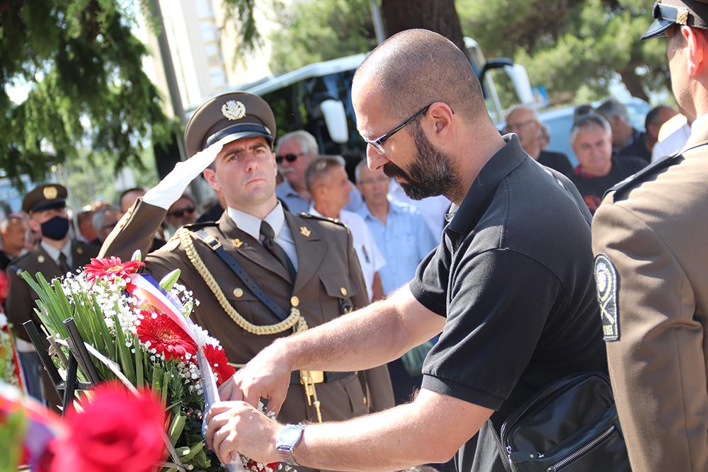 Dostojanstveno obilježena 30. obljetnica osnutka slavne  113. šibenske brigade