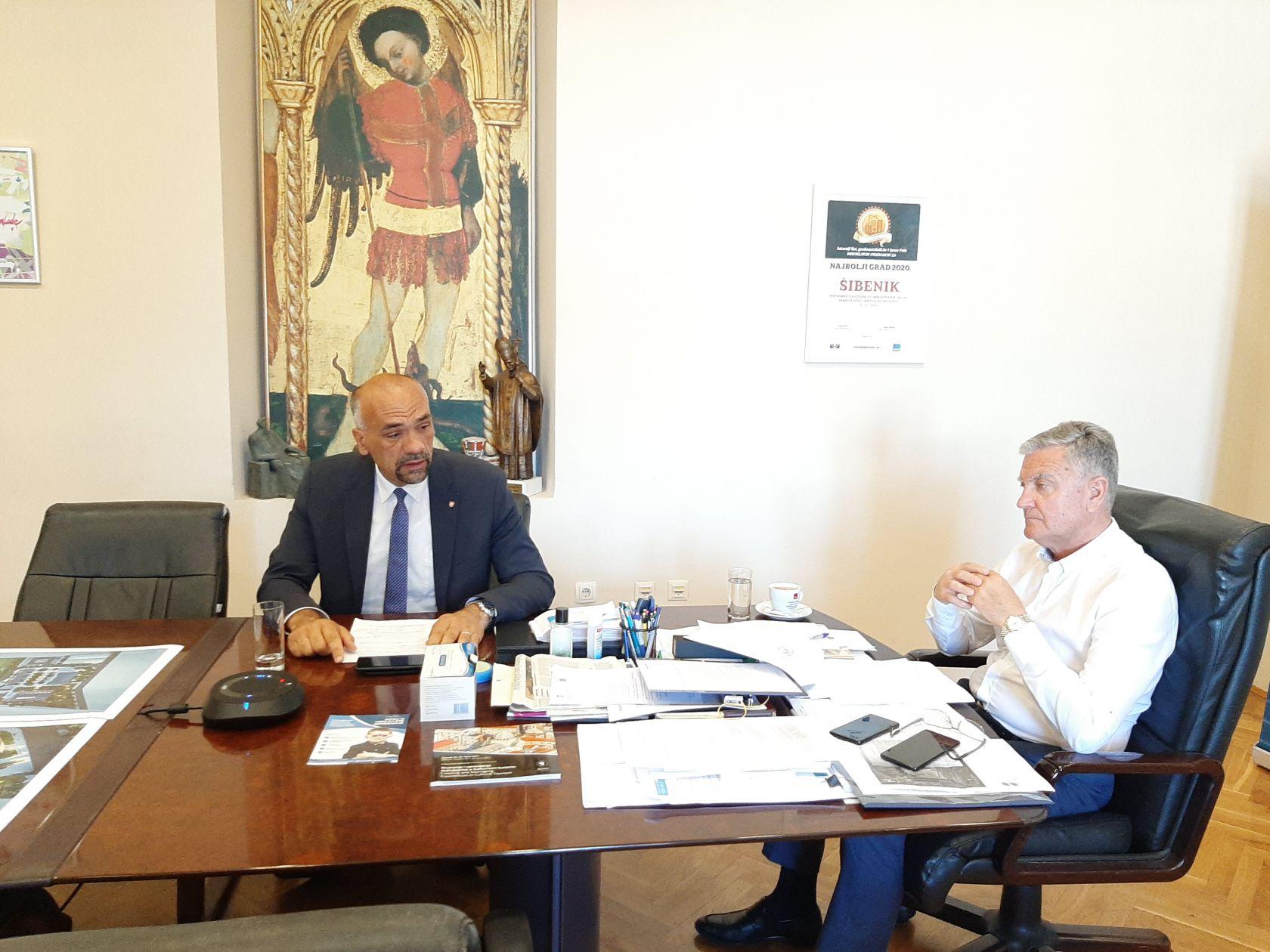Gradonačelnik i župan sudjelovali u radu sjednice Povjerenstva za procjenu i utvrđivanje prijedloga strateških projekata