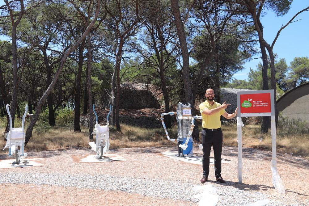 Gradi se novo vježbalište uz šetnicu u kanalu sv. Ante