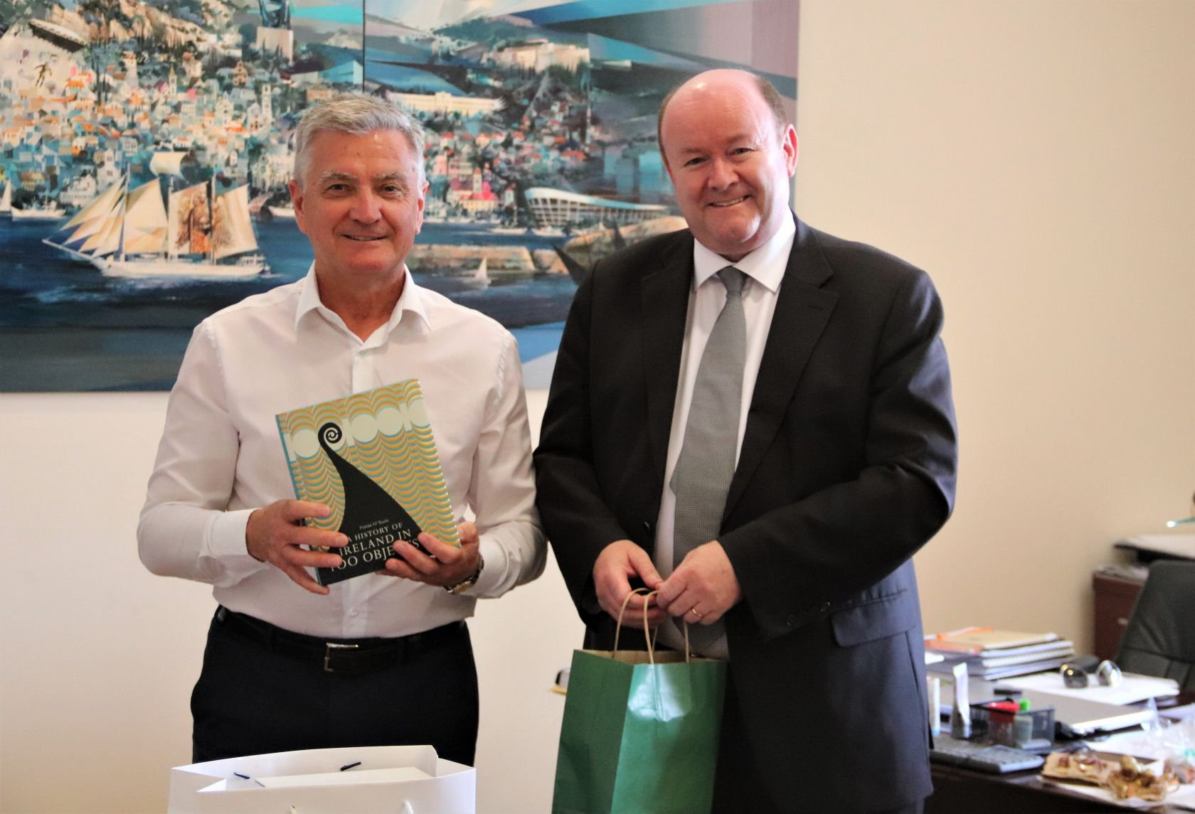 Gradonačelnik primio veleposlanika Irske