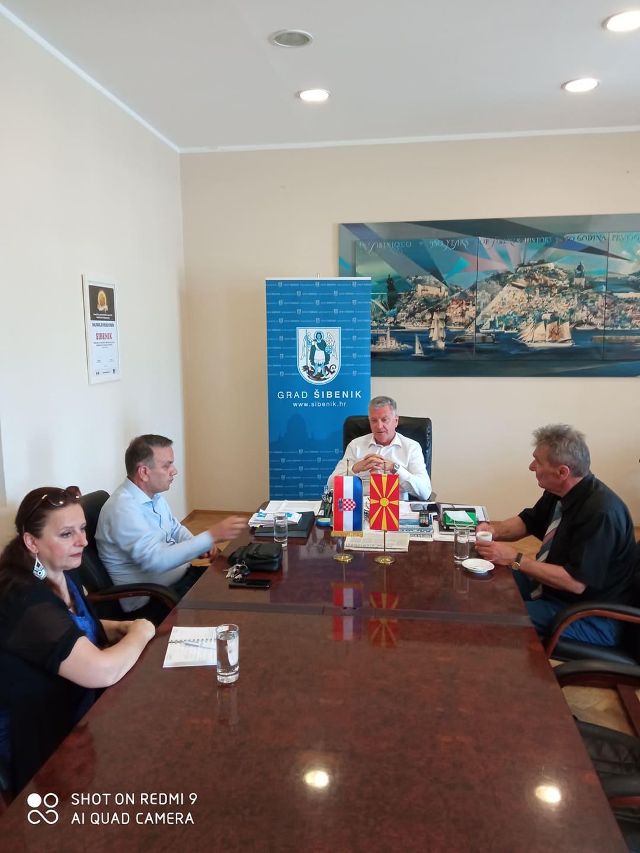 Gradonačelnik primio zamjenika ministra Republike Makedonije Zorana Dimitrovskog