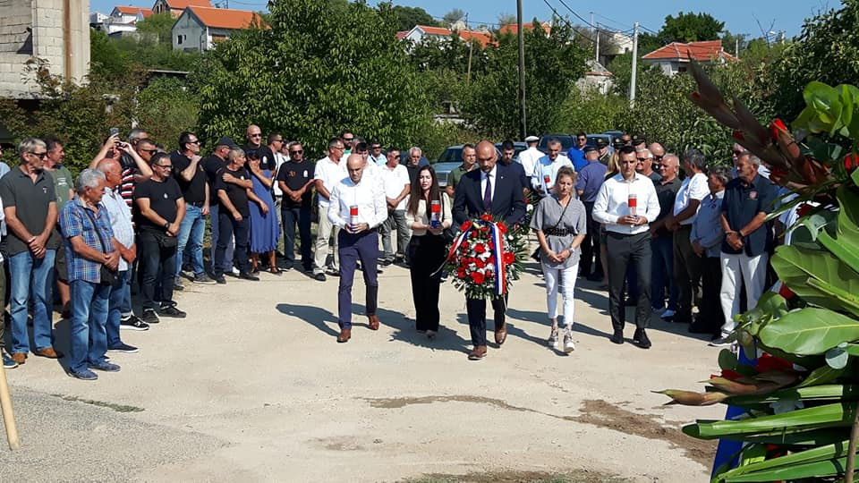 Polaganjem vijenaca kod Spomen križa u Velikoj Glavi započelo obilježavanje 30. obljetnice Rujanskog rata