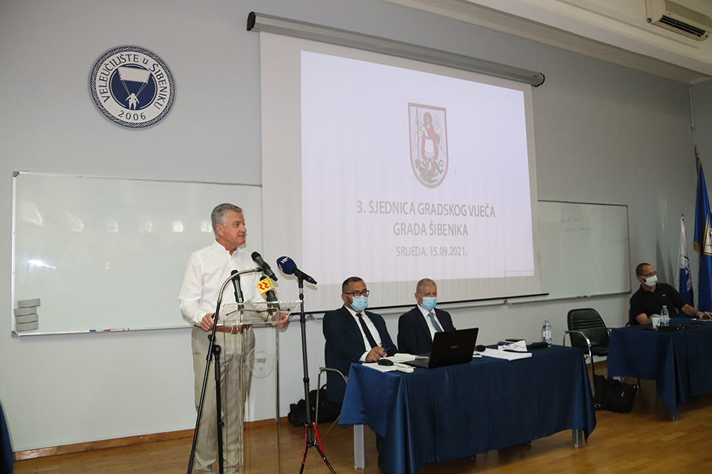 Održana 3.sjednica Gradskog vijeća Grada Šibenika