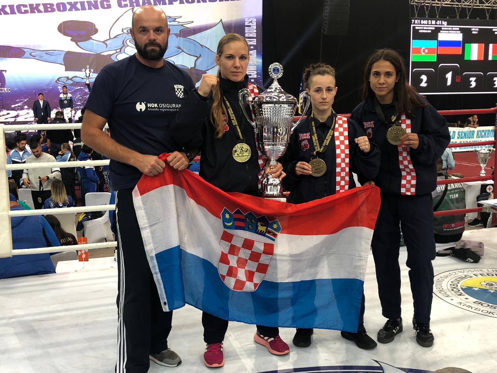 """Članice šibenskog """"Dalmatina"""" putuju na Svjetsko prvenstvo u kickboxingu  u  Jesolo (Italija)"""