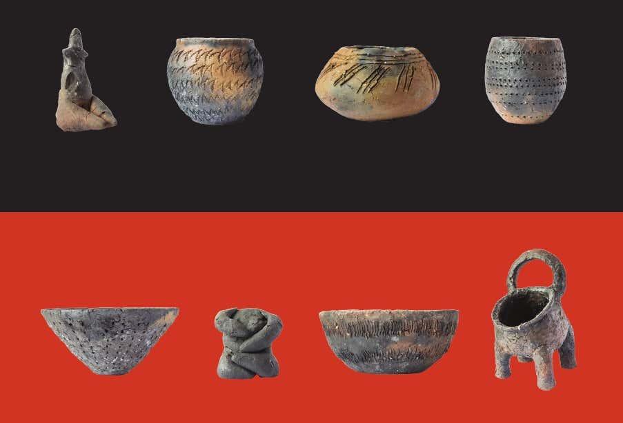 """U Muzeju grada Šibenika izložba """"Izrada i pečenje keramike na neolitički način"""""""