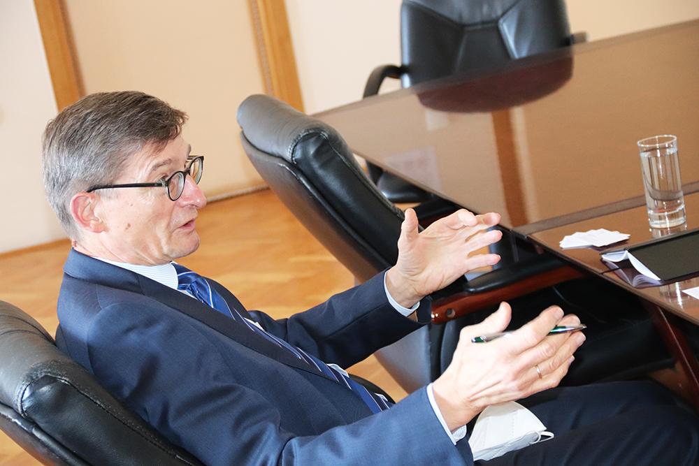 Nastupni posjet veleposlanika Republike Austrije Nj.E. Josefa Markusa Wuketicha Šibeniku