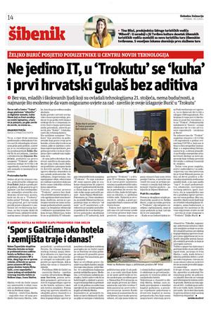 Željko Burić posjetio poduzetnike u Centru novih tehnologija Trokut