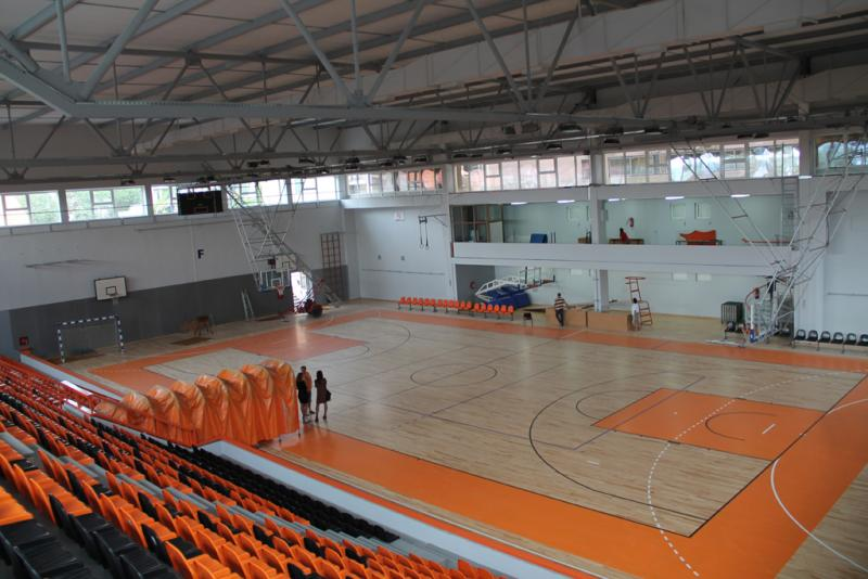 Obnova sportske dvorane Baldekin